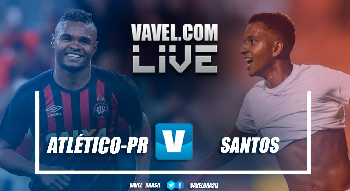 Resultado Atlético-PR 2x0 Santos no Campeonato Brasileiro 2018
