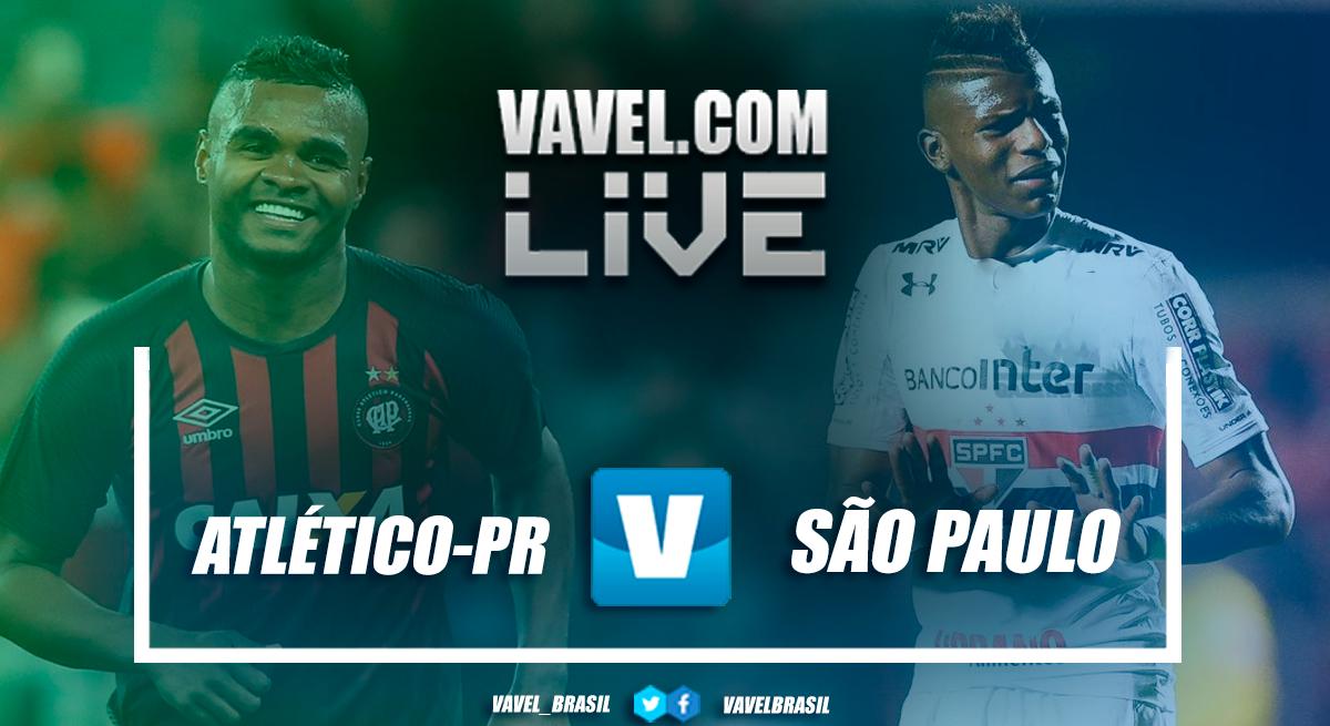 Resultado de Atlético-PR x São Paulo pelo Campeonato Brasileiro 2018 (0-1)