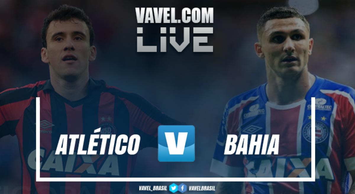 Resultado Atlético-PR x Bahia pela Copa Sul-Americana 2018 (0-1)