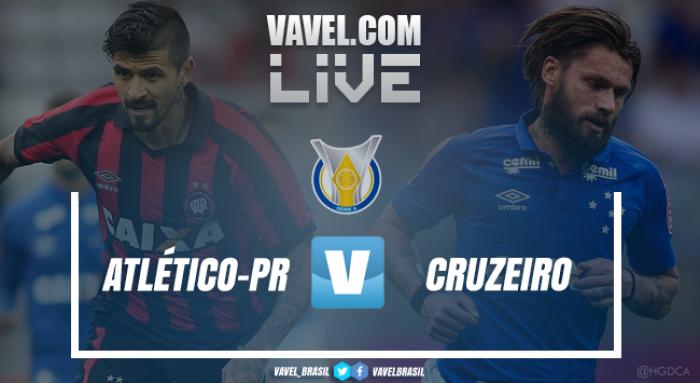Resultado Atlético-PR x Cruzeiro no Campeonato Brasileiro 2017 (0-2)