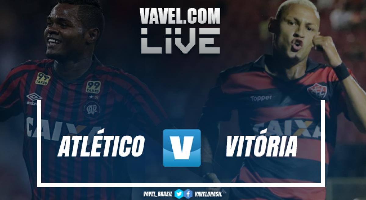 Resultado Atlético-PR 4 x 0 Vitória pelo Campeonato Brasileiro 2018
