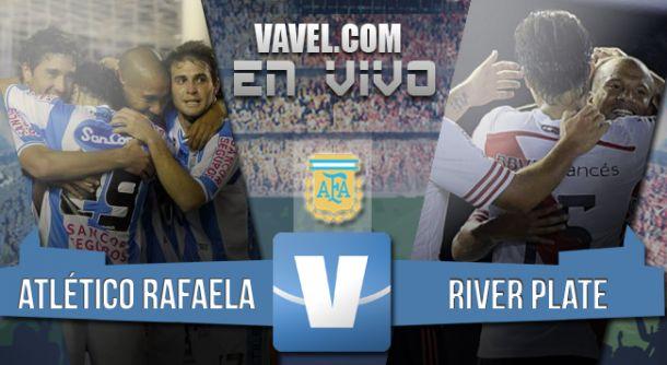 Resultado partido Atlético Rafaela - River 2015 (1-5)