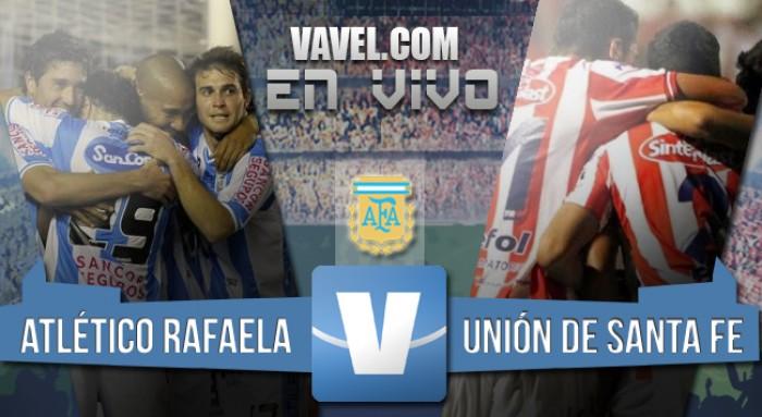 Resultado de Atlético Rafaela - Union de Santa Fe por el Torneo de Transición 2016 (1-1)