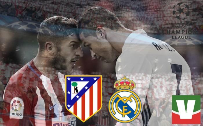 Champions League, Atletico-Real: tra tecnica, tattica e motivazioni