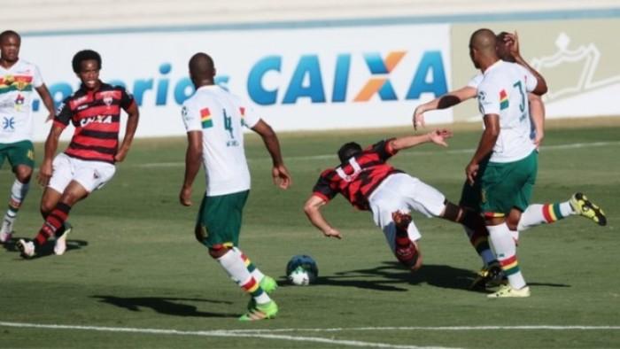 Resultado Sampaio Corrêa x Atlético-GO no Campeonato Brasileiro Série B 2016