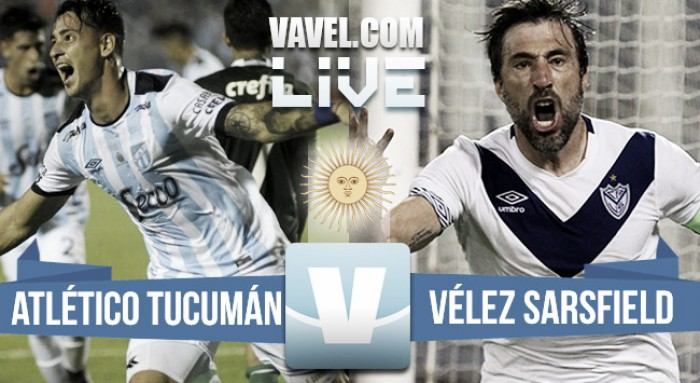 Atlético Tucumán 1-1 Vélez Sarsfield, empate en el cierre de la fecha