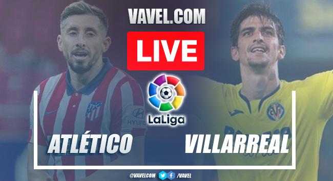 Goals and Highlights: Atletico Madrid 2-2 Villarreal in LaLiga 2021   08/29/2021