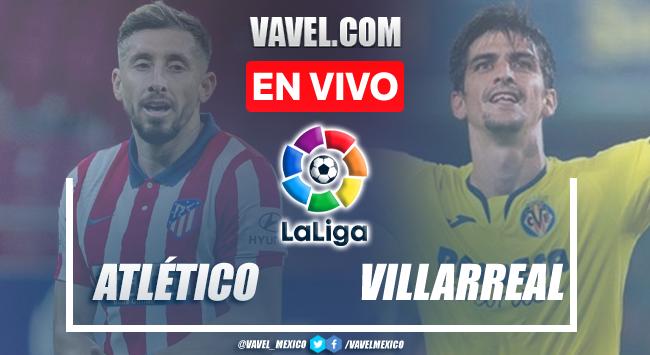 Goles y resumen del Atlético Madrid 2-2 Villarreal en LaLiga 2021