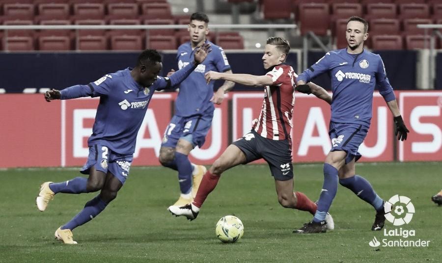 Resumen Getafe CF vs Atlético en LaLiga Santander 2020/21