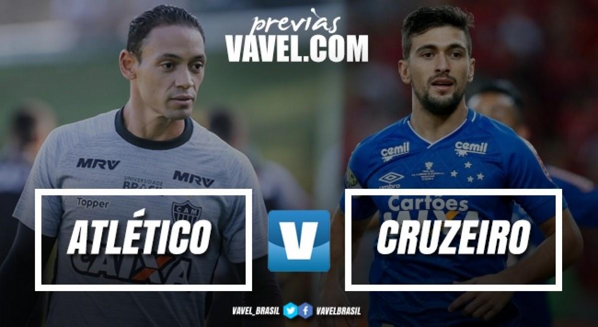 Com mistério dos comandantes, Atlético-MG e Cruzeiro fazem primeiro clássico do ano
