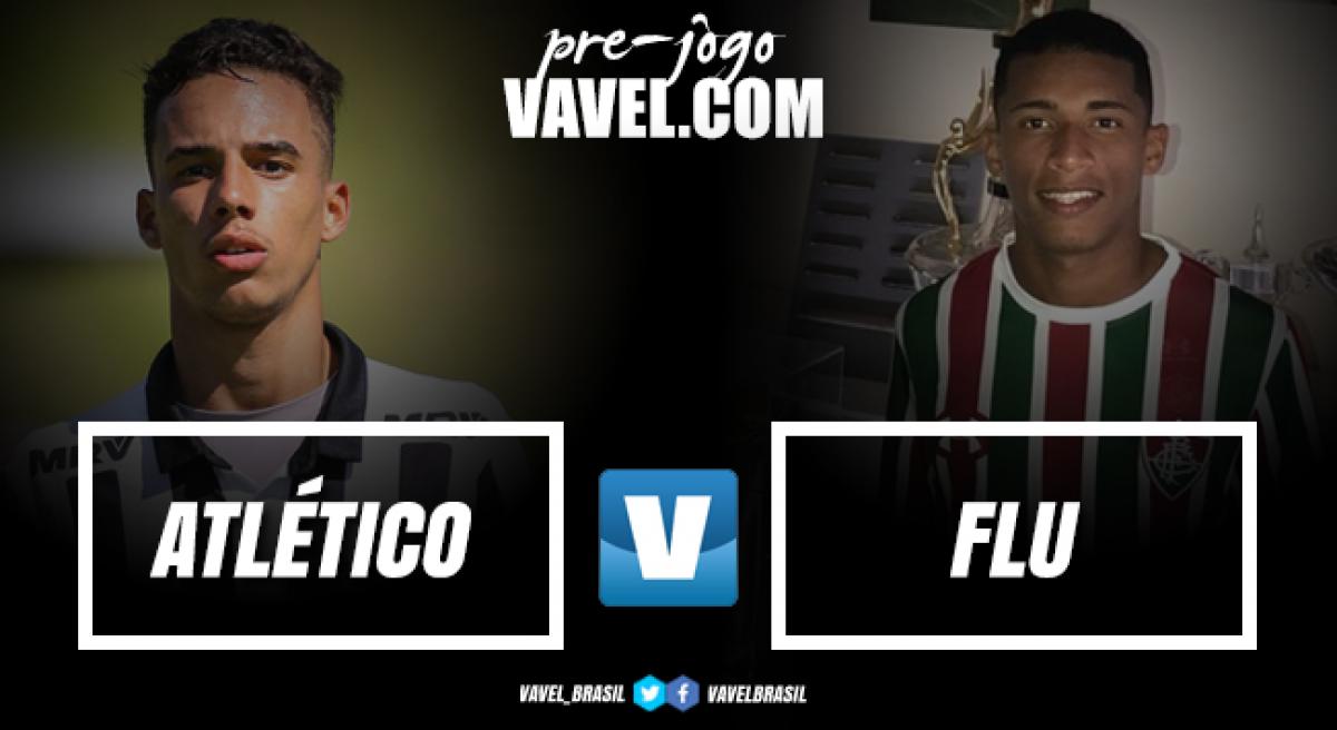Em busca do hexacampeonato, Atlético-MG enfrenta Fluminense pela final da Taça BH sub-17