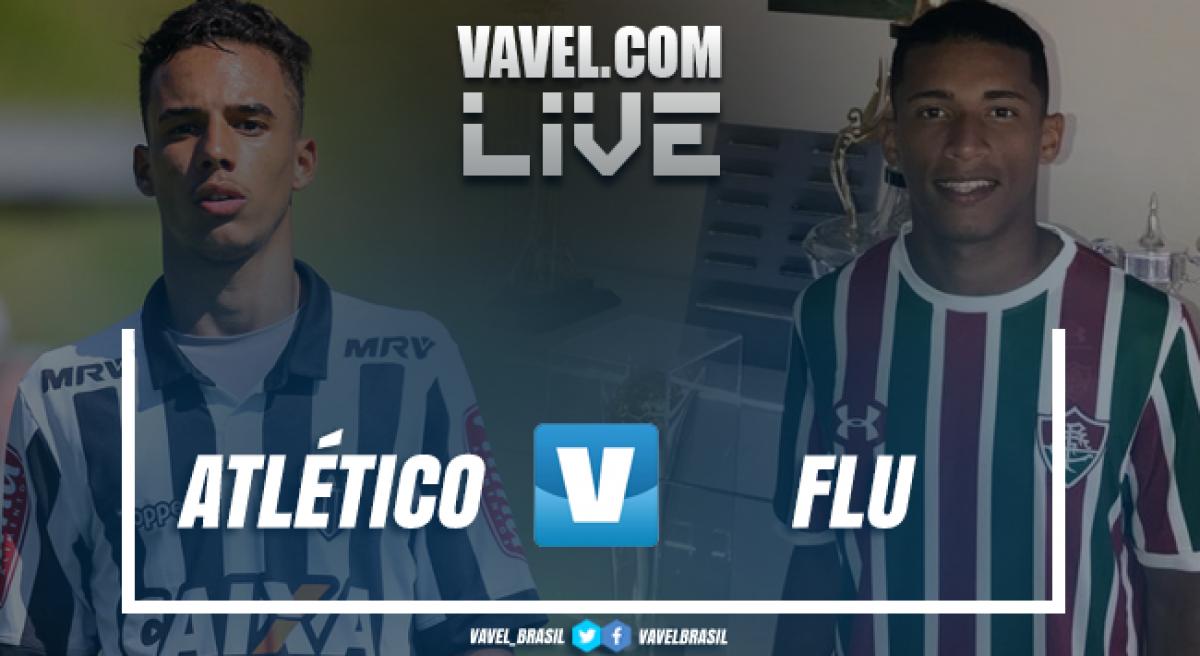 Resultado Atlético-MG 3 x 1 Fluminense pela final da Taça BH Sub-17