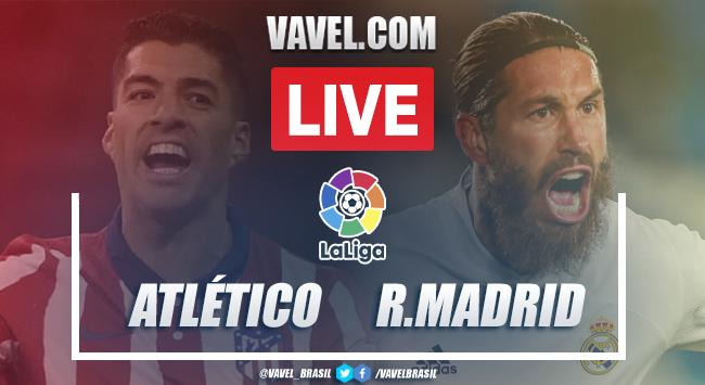 Gols e melhores momentos Atlético de Madrid 1x1 Real Madrid pela LaLiga