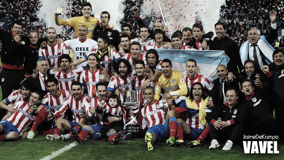 Atlético de Madrid vence, quebra tabu e conquista a Copa do Rei