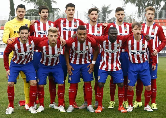El Atlético B se impone al Parla y jugará el play-off de ascenso