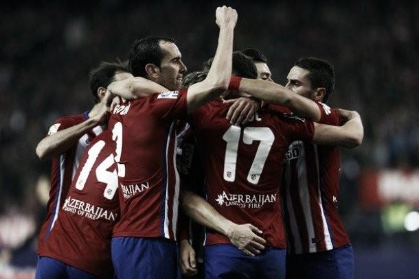 Gran gol di Griezmann, l'Atletico aggancia il Barcellona in vetta