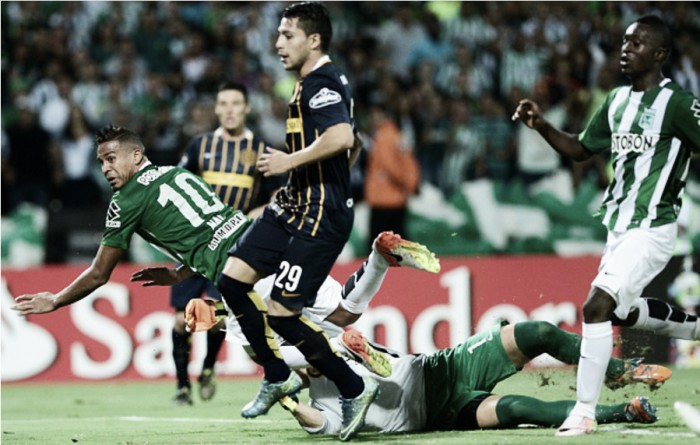 Com gol nos acréscimos,Atlético Nacional se classifica e enfrenta São Paulo na Libertadores