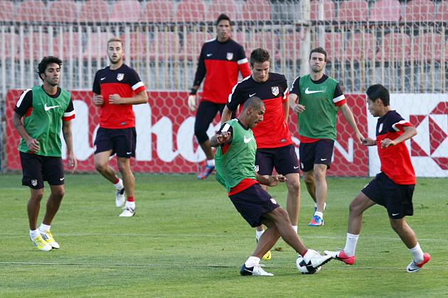 El Atlético de Madrid regresa a los entrenamientos