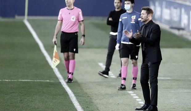 """Simeone analisa empate contra Huesca: """"Não conseguimos efetivar as situações que tivemos"""""""