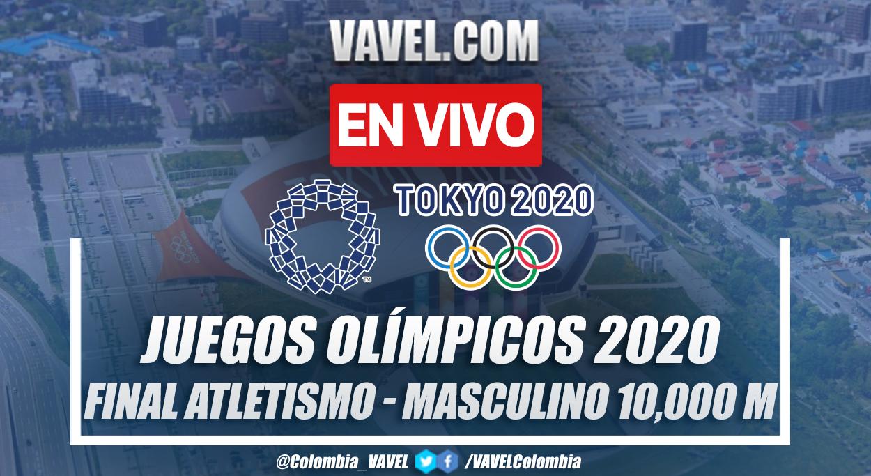 Resumen: finales en 10,000 metros en atletismo masculino de Juegos  Olímpicos