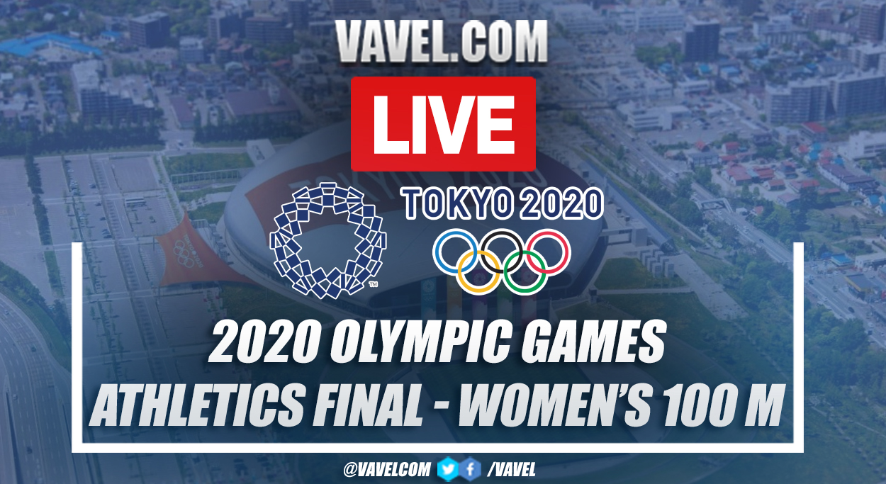Highlights: women's Athletics 100 m Final in 2020 Olympic Games