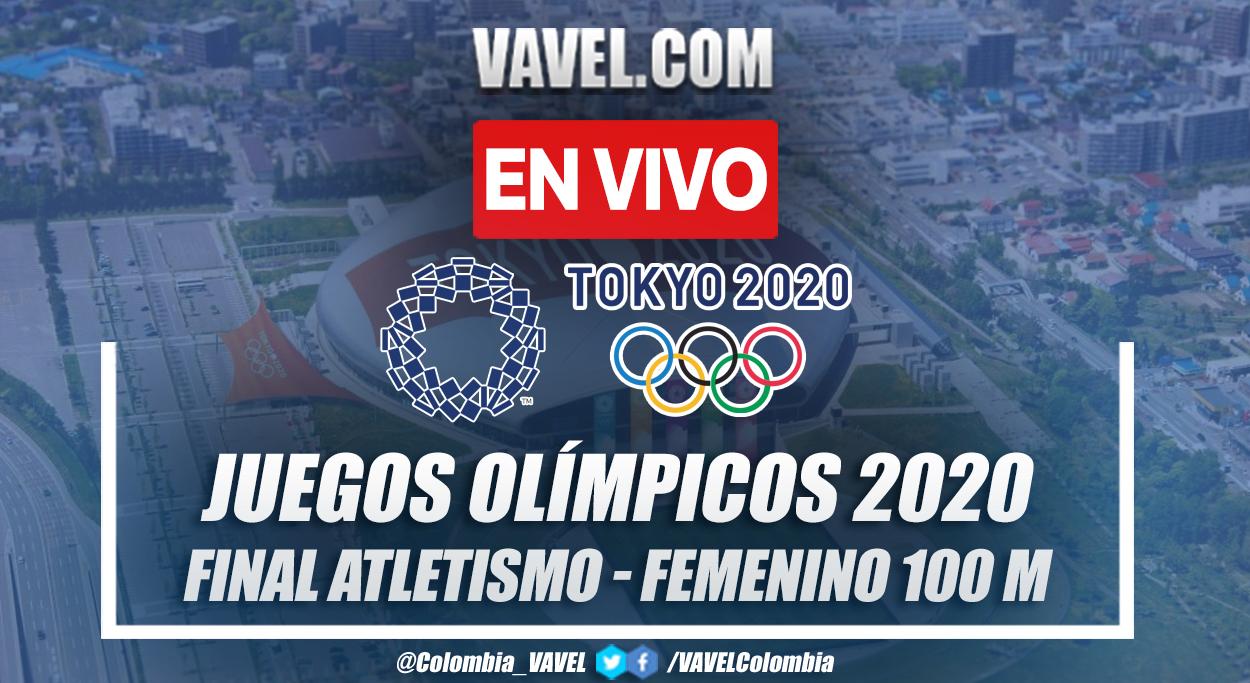 Resumen: finales Atletismo 100 m femenino por Juegos Olímpicos 2020