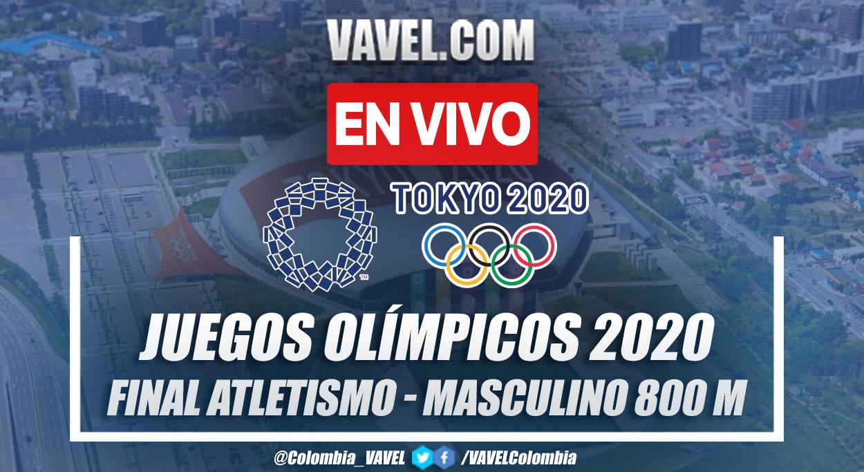 Resumen: Atletismo Masculino Final 800m en Tokio 2020
