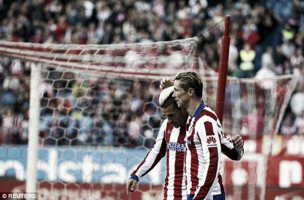 Atlético Madrid vence Real Sociedad no Vicente Calderón