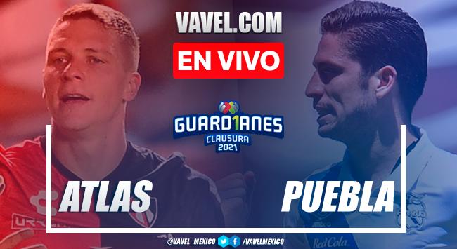 Goles y resumen: Atlas 1-0 Puebla en Cuartos de Final de Ida de la Liga MX Guard1anes 2021