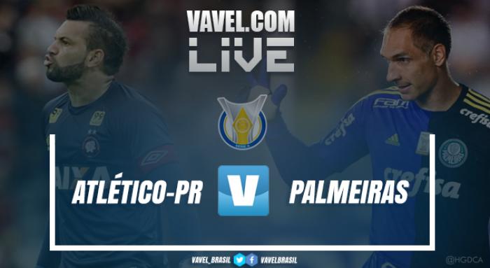 Jogo Atlético-PR x Palmeiras AO VIVO hoje pelo Brasileirão 2017 (3-0)
