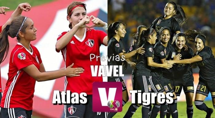 Previa Tigres - Atlas Femenil: Por no dejar la cima