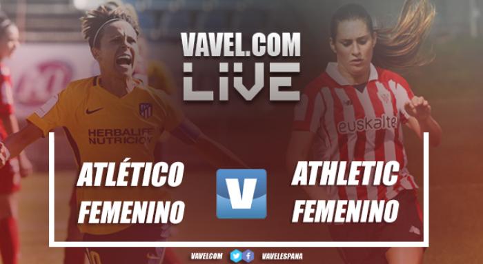 Resultado Atlético Femenino 6-0 Athletic Femenino en Liga de Fútbol Femenina 2017