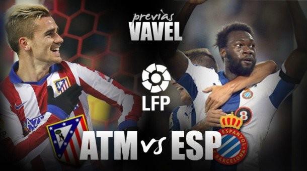 Atlético de Madrid- RCD Espanyol: asalto al Calderón