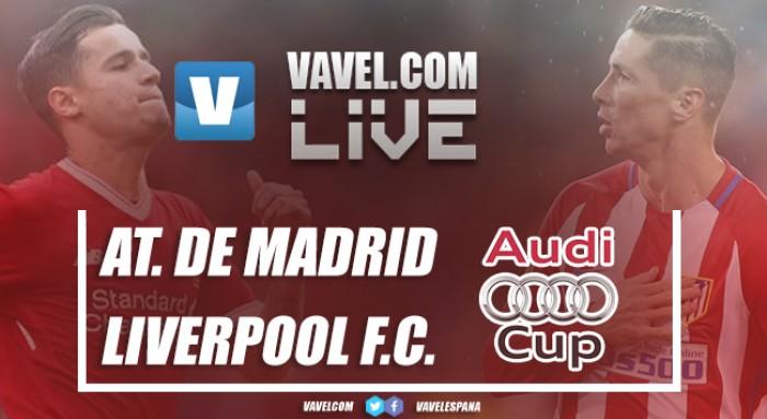 El Atlético de Madrid gana la Audi Cup en los penaltis: Así lo vivimos