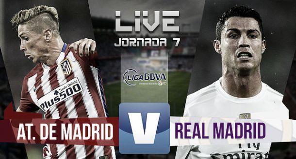 Score Atlético Madrid vs Real Madrid inLa Liga (1-1)