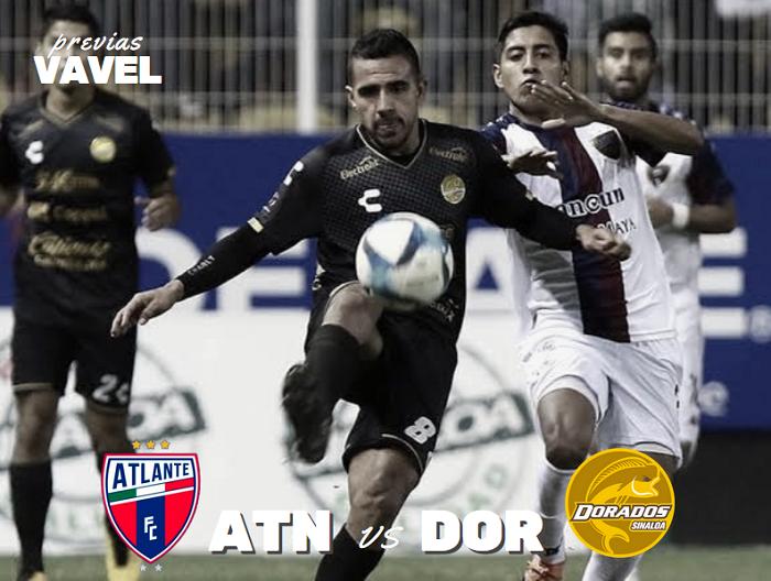 Previa Atlante-Dorados: por el primer triunfo del Clausura 2020