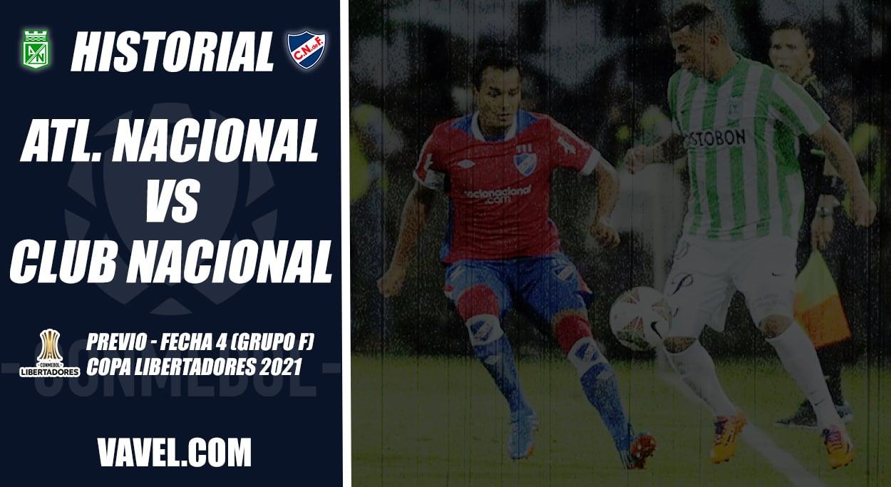 Historial Atlético Nacional vs. Club Nacional: dominio 'verdolaga'