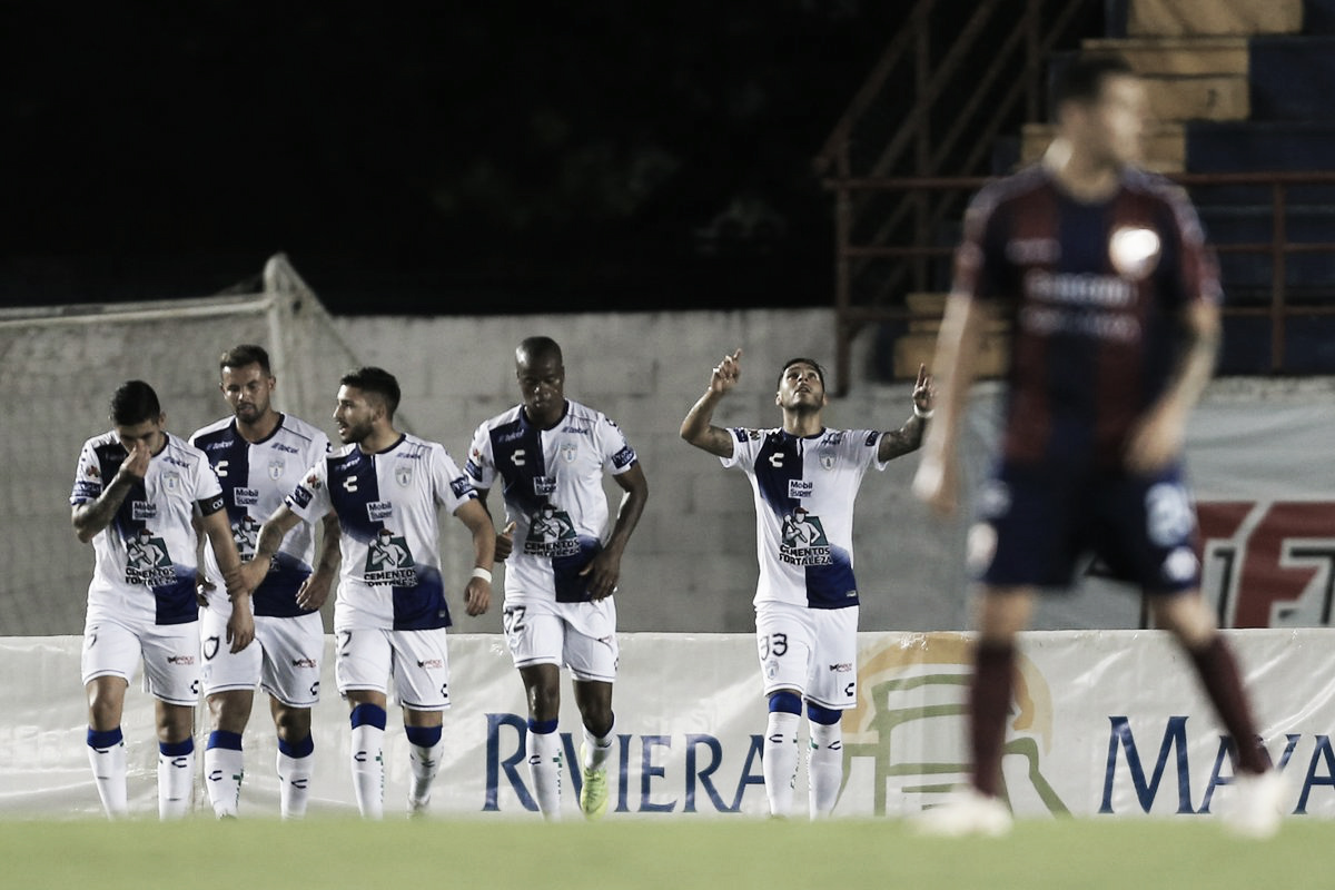 Pachuca se lleva los primeros tres puntos en la Copa MX