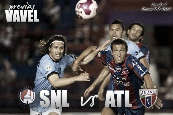Previa Atlante-Atlético San Luis: por la primera victoria en casa