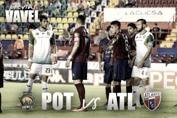 Atlante vs Potros UAEM, Liga de Ascenso MX — En vivo