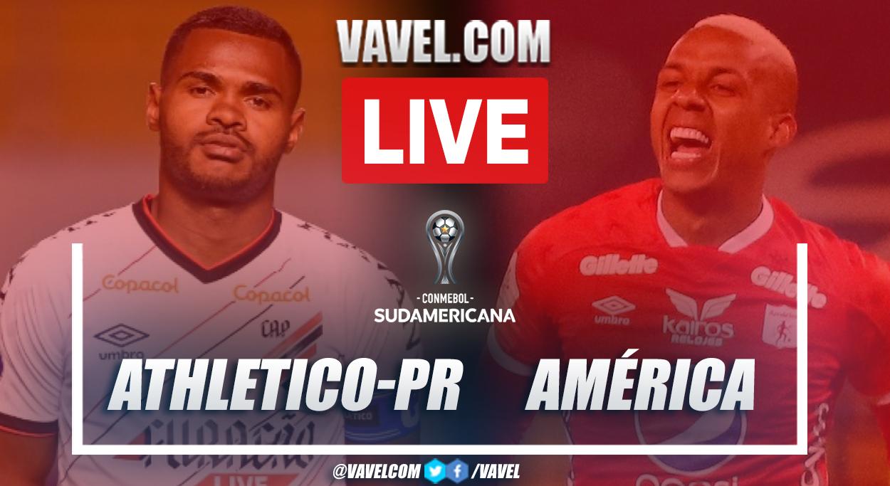 Highlights and goals: Athletico-PR 4-1 America in Copa Sudamericana 2021