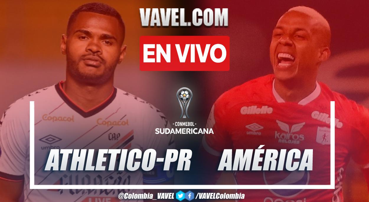 Resumen y Goles: Athletico-PR 4-1 América en Copa Sudamericana 2021