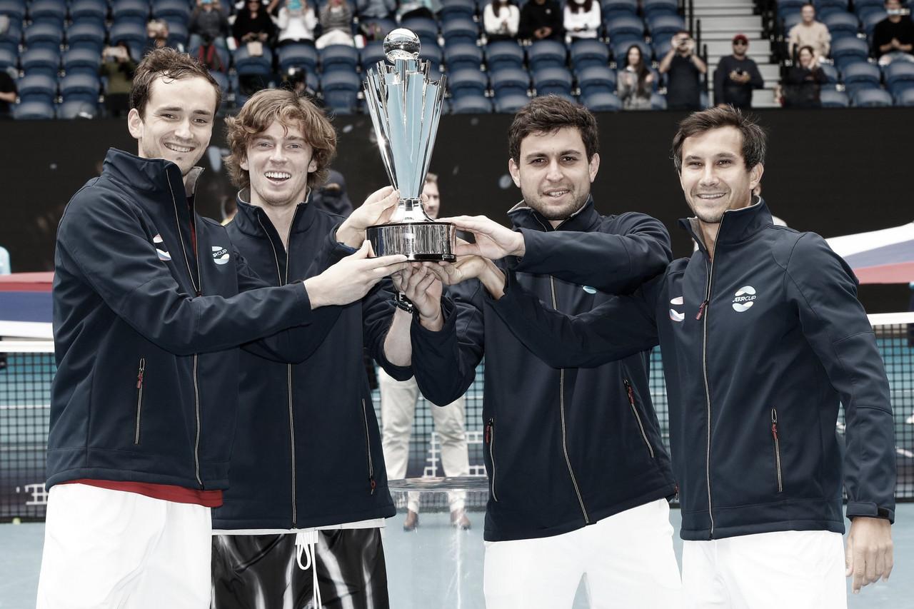 Rusia se corona campeón de la ATP Cup