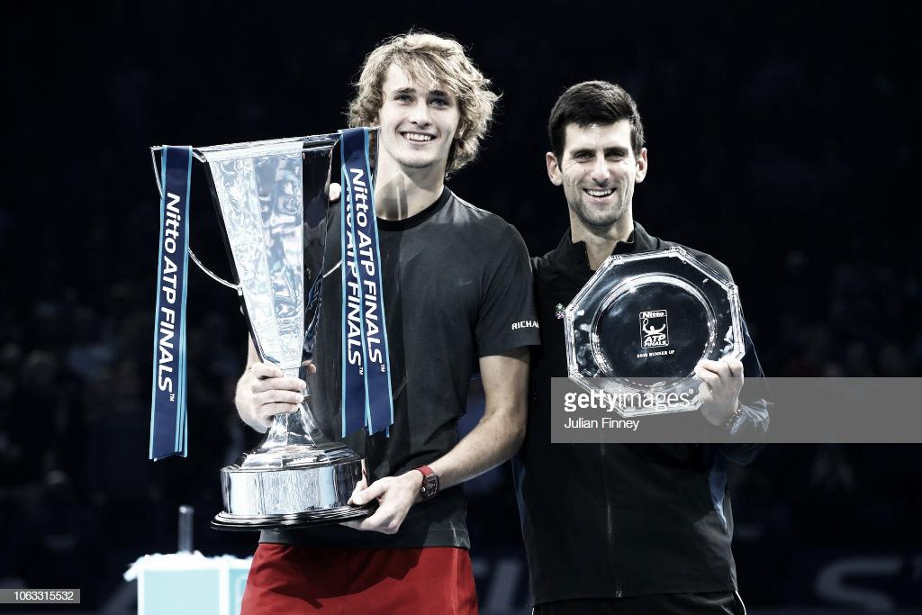 Alexander Zverev se proclama campeón de las Nitto ATP Finals