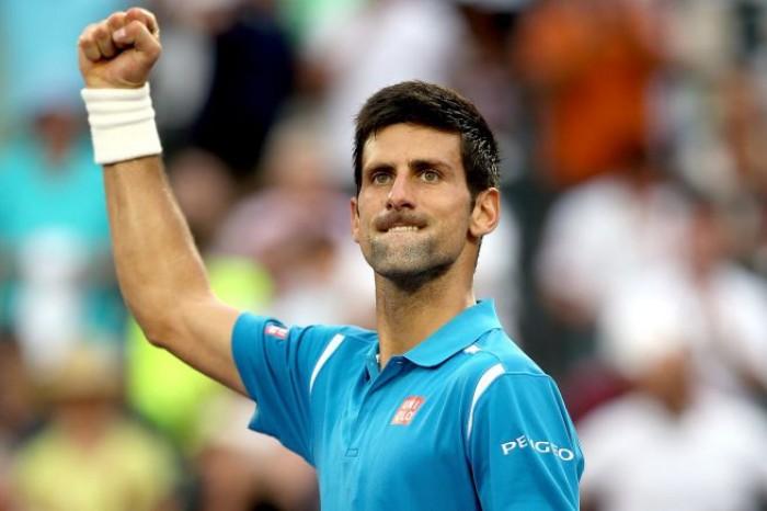 Master 1000 Miami - Djokovic supera un ispirato Goffin e raggiunge la sua settima finale in Florida