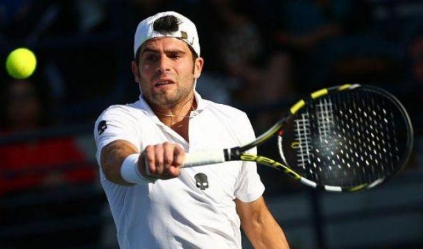 ATP Winston Salem: avanza Bolelli, fuori Checchinato