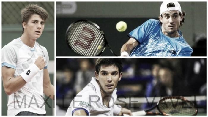 Tenistas argentinos en ATP: tres que siguen en carrera