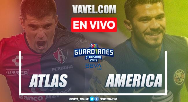 Goles y Resumen del Atlas 0-2 América en Jornada 7 de la Liga MX 2021