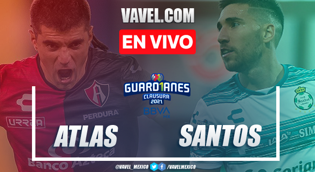 Goles y Resumen: Atlas 1-1 Santos en Liga MX 2021