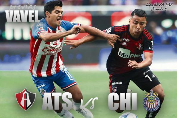 Previa Atlas - Chivas: Regresa el Clásico Tapatío al Estadio Jalisco